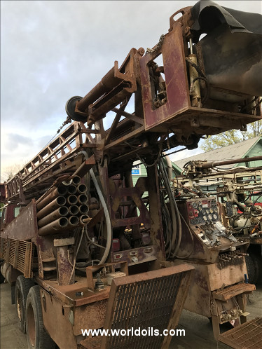 Used Drilling Rig - Ingersoll-Rand TH75W for Sale