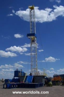 IDECO H 1000 Used Drill Rig with Oil & Gas Package for Sale