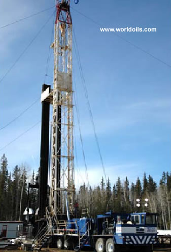 Ideco H30 Double - 3000m - Used - Workover Rig - For Sale