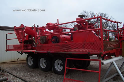 IDECO H37 Trailer Mounted Drilling Rig for Sale