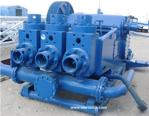 Used Triplex Mud Pump for sale