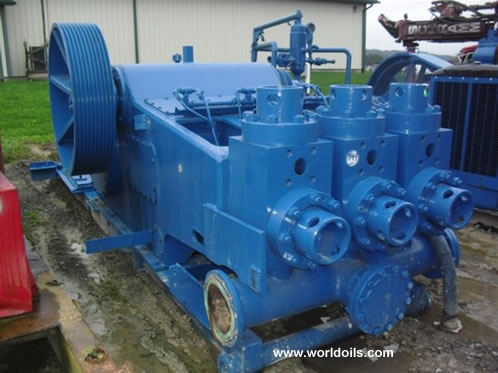 IDECO T-1000 Triplex Mud Pump for sale
