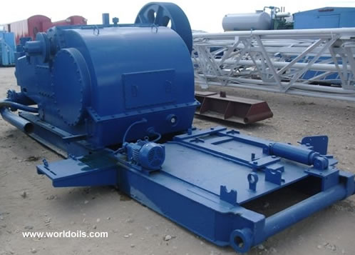 IDECO T-1000 Used Triplex Mud Pump