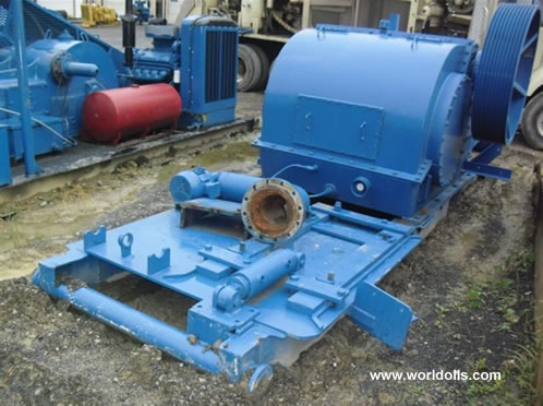 Used IDECO T-1000 Triplex Mud Pump for Sale