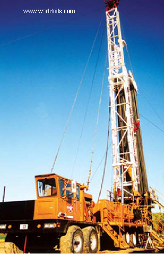 Ideco H35 KD Double (4200) - Used Workover Rig for sale