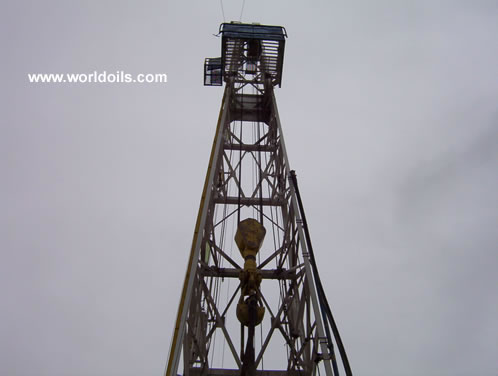 10,000' Drilling Depth Capacity Rig in USA
