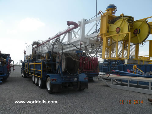 Ideco H44 Carrier Mounted Drilling Rig for Sale