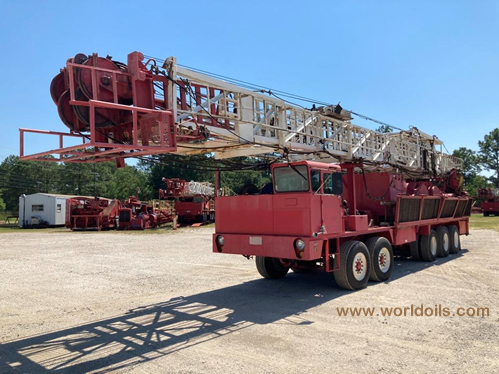 Ideco Rambler Workover Rig for sale