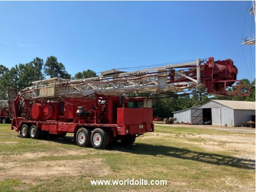 Used Ideco Workover Rig - 1975 Built for Sale