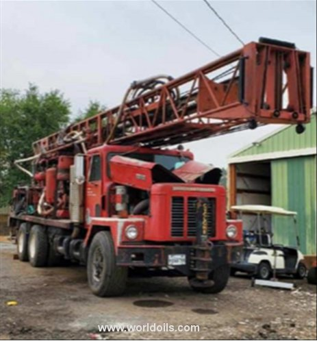 Ingersoll-Rand Cyclone TH60 Drilling Rig - For Sale