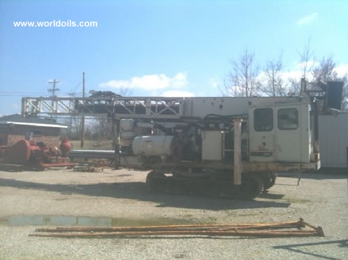 Ingersoll-Rand DM25 Used Drilling Rig 1985 Built