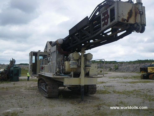 Used Ingersoll-Rand DM45E Drilling Rig