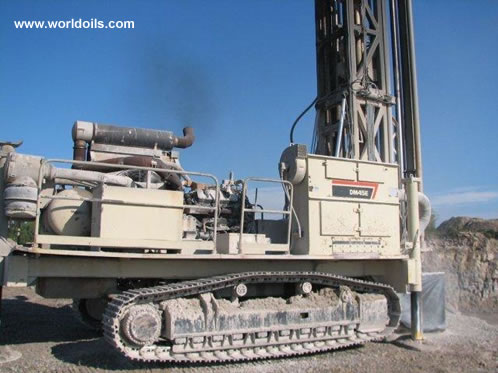 1994 Built Ingersoll-Rand DM45E Drilling Rig for sale