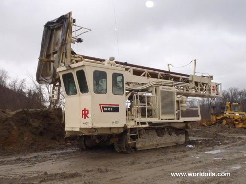 1998 built Ingersoll-Rand DM45LP Drilling Rig for Sale
