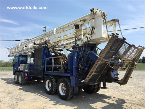 Ingersoll-Rand RD20 Range II Drill Rig in USA