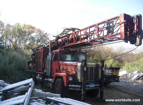 Ingersoll-Rand T3W - Long Tower - Drilling Rig - 1990 Built