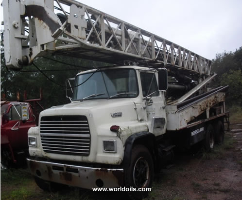Ingersoll-Rand T3W Drilling Rig - 1987 built - for Sale