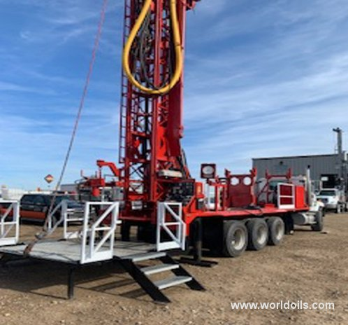 Ingersoll-Rand T3W Drilling Rig - 2004 Built for Sale