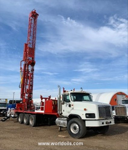 Ingersoll-Rand T3W Drilling Rig -  For Sale