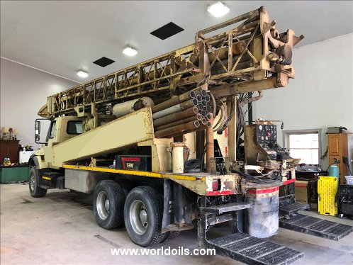 Ingersoll-Rand T3W Used Drilling Rig for Sale