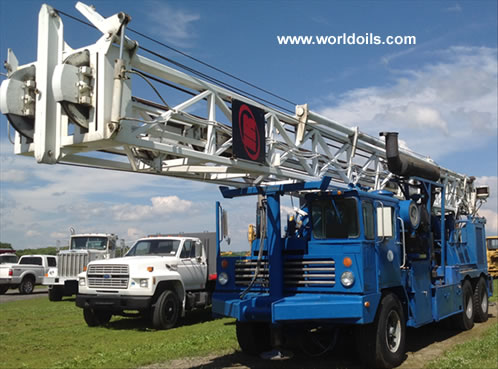 Ingersoll-Rand T4 LT Long Tower Drill Rig for Sale