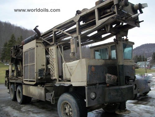 Ingersoll-Rand T4W DH used drill rig 1988 Built- For Sale