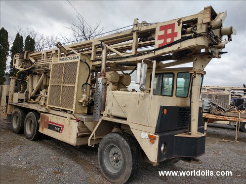 Ingersoll-Rand T4W Drill Rig - 1998 Built -  For Sale