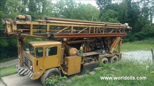 Ingersoll-Rand T4W Drill Rig -  For Sale