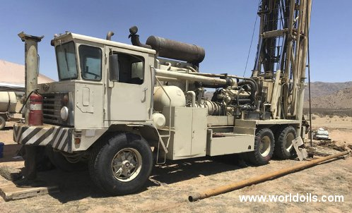 Ingersoll-Rand T4W Drilling Rig - 1981 Built - For Sale