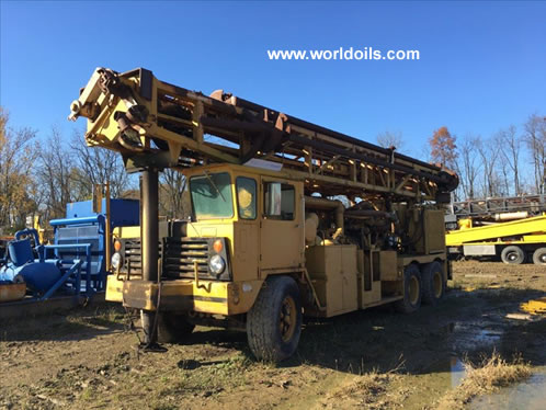 Used Ingersoll-Rand T4W Drill Rig