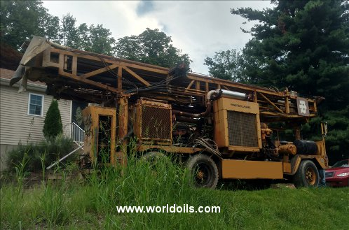 Ingersoll-Rand T4W Drilling Rig - 1980 Built for Sale