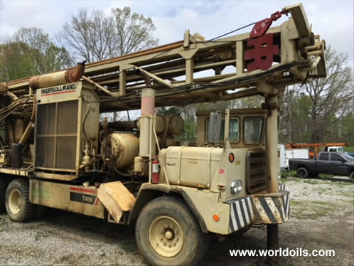Ingersoll-Rand T4W Drilling Rig - 1987 Built for Sale
