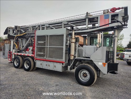 Ingersoll-Rand T4W Drilling Rig - 2002 Built - For Sale