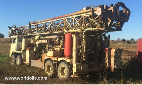 Drilling Rig - Ingersoll-Rand T4W LT Range II - For Sale