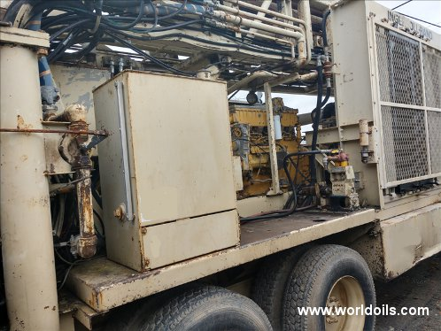Ingersoll-Rand T4W Used Drilling Rig for Sale