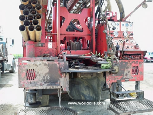 Ingersoll-Rand TH60 Used Drilling Rig for Sale 1990 built