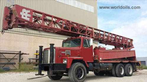 Ingersoll-Rand TH60 Used Drilling Rig for Sale