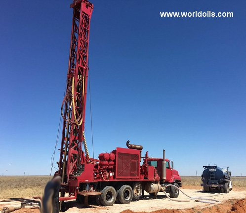 Ingersoll-Rand TH75W Used Drilling Rig for Sale