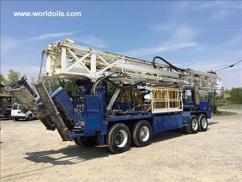 1996 built Ingersoll-Rand RD20 Range II Drill Rig for Sale
