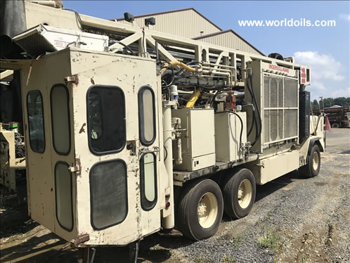 1985 Ingersoll-Rand T4BH (Blast Hole) Used Drill Rig