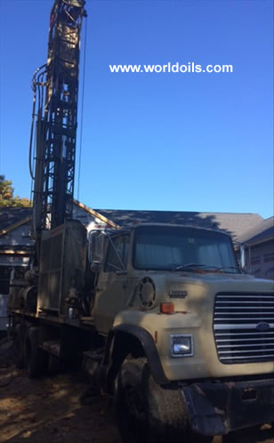 Ingersoll Rand T3W Drill Rig - 1988 Built - for Sale