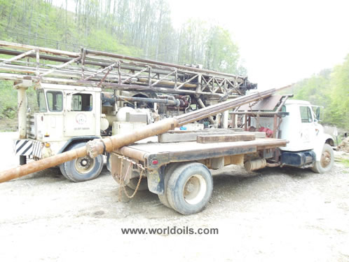 Ingersoll Rand T4W Drilling Rig in USA