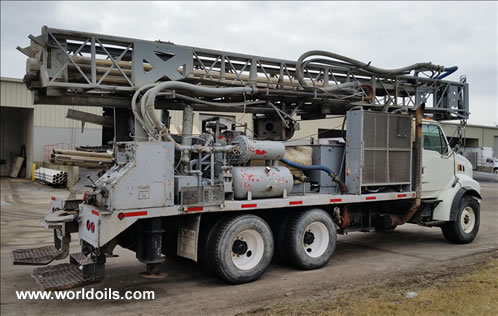 Ingersoll Rand TH-55 Drill Rig for Sale in USA