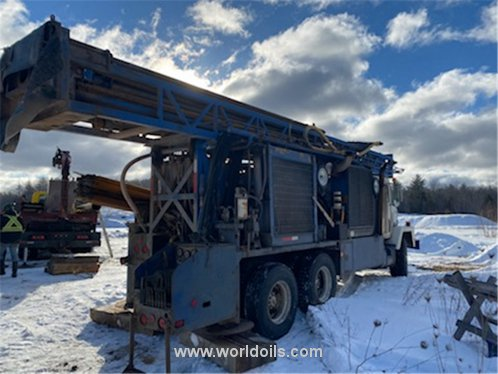 Jaswell J1200 Drilling Rig - For Sale