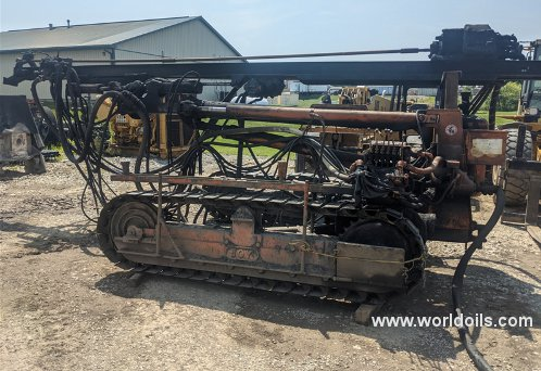 Joy MS-4E Top Hammer Air Driven Drilling Rig - For Sale