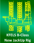 400ft Jackup KFELS B-Class Design - New Rig For sale