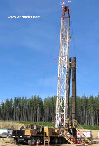 Kin Rig S 300 Double - 3000m - Used - Workover Rig - For Sale