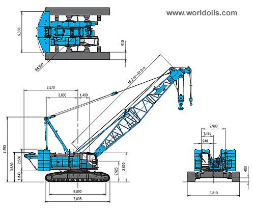 Kobelco 7120S Crawler Crane for sale