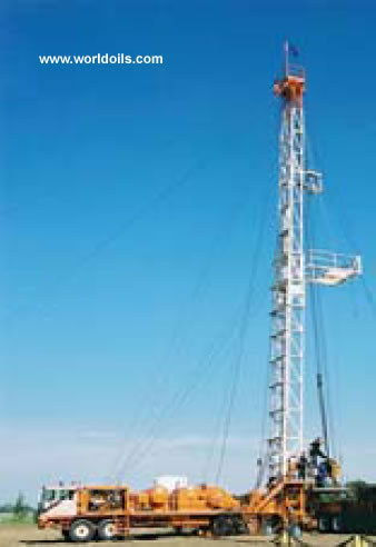 Kremco K 600 Double - 4200m - Used - Workover Rig - For Sale
