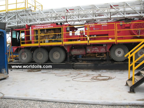 LCI 1000 Mechanical Carrier Mounted Drilling Rigs for Sale